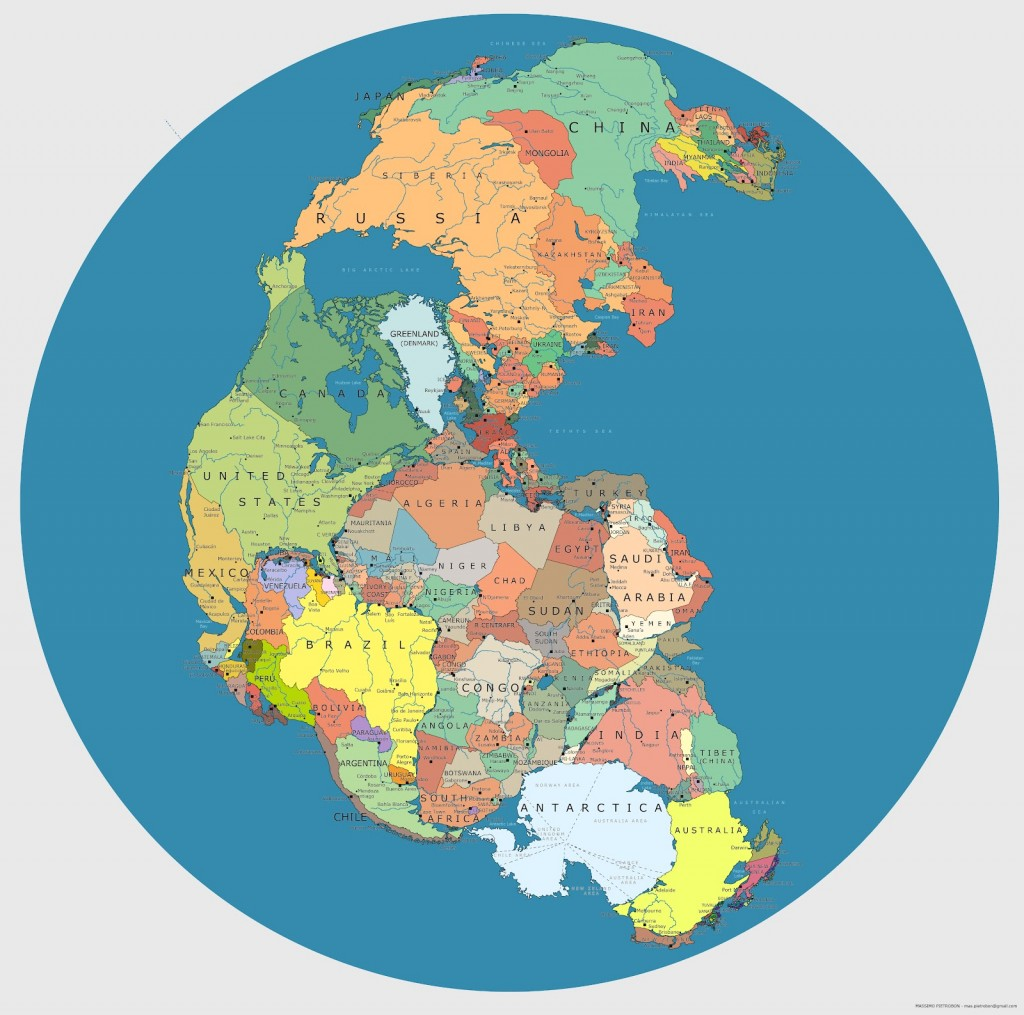 Continents of the world, unite
