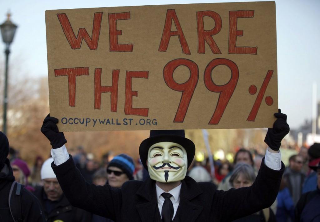 guy fawkes v for Vendetta occupy